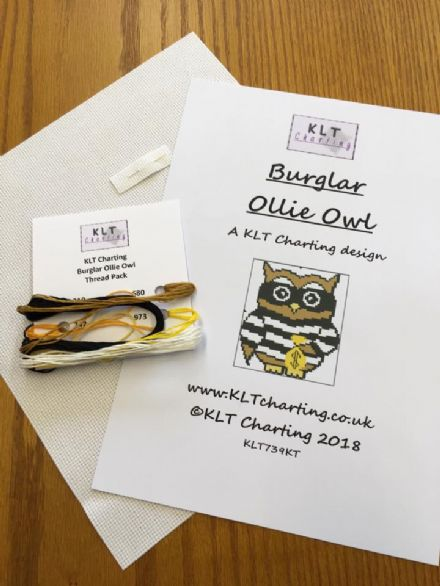 Burglar Ollie Owl Full Kit